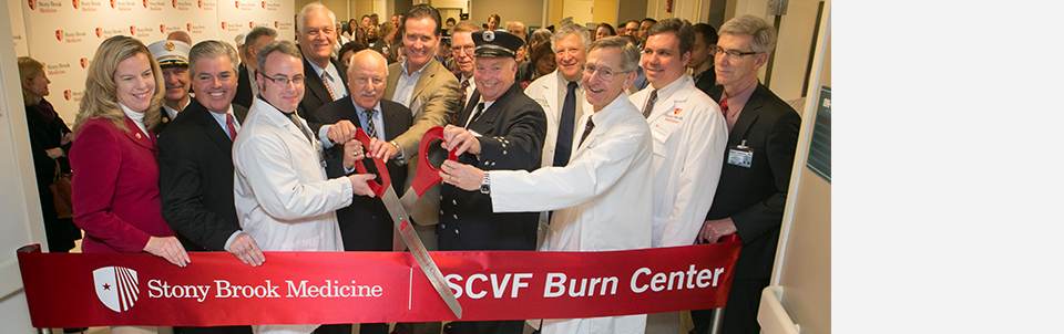 Hospital Names New State-of-the-Art Center to Honor Suffolk County Volunteer Firefighters